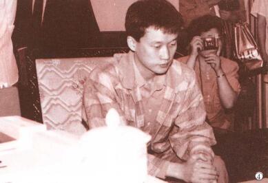当年年轻的刘昌赫