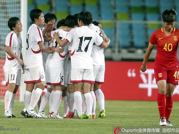热身赛女足0-1朝鲜