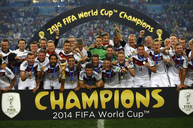 德国队在南美洲也能捧杯