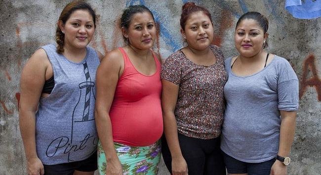 墨西哥的代孕四姐妹