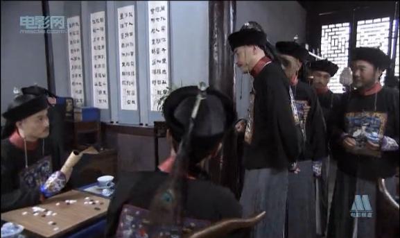 左下《大国手》施襄夏的棋局