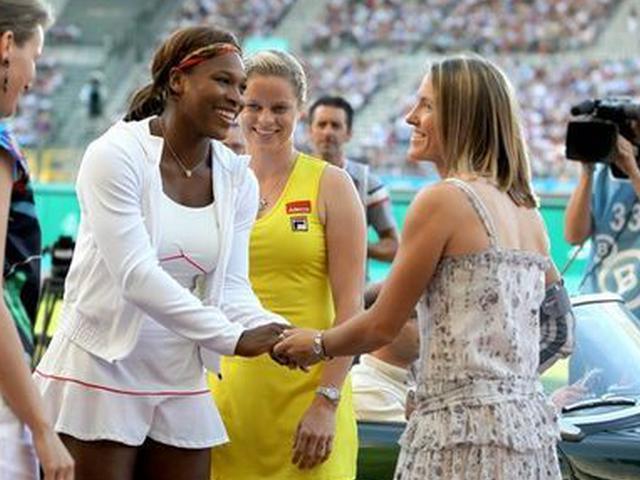 2010澳网决赛小威V海宁