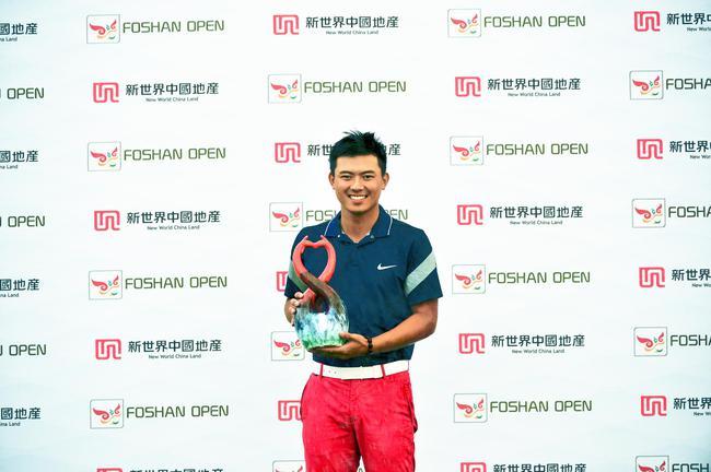 2016佛山公开赛中国最佳球员陈子豪
