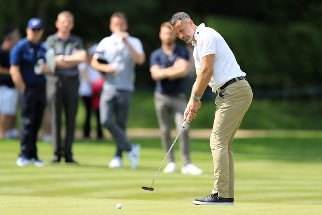 吉格斯的高尔夫差点是14,水平相当了得