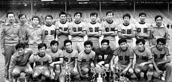 苏永舜(后排左二)治下的国家队