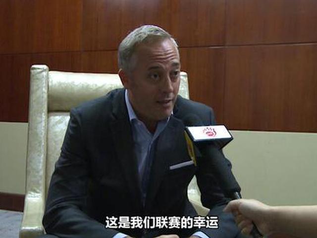 视频-西甲联盟中国区总裁Sergi:西甲是世界最好联赛