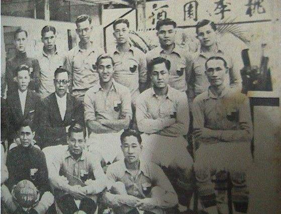 上世纪30年代的广东队
