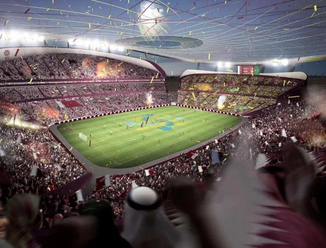 卢塞尔地标体育场想象图