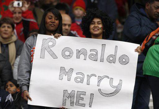 C罗,娶我吧!