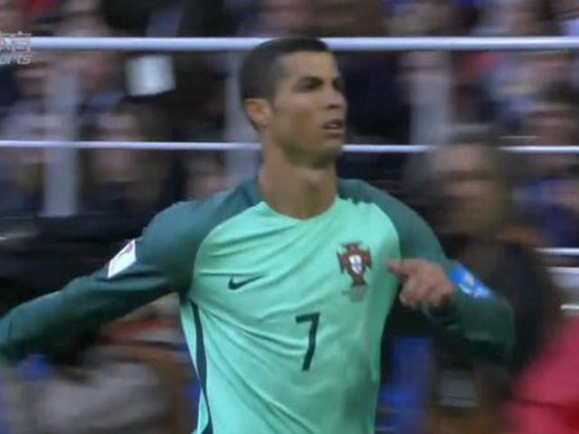 联合会杯C罗破门葡萄牙获首胜