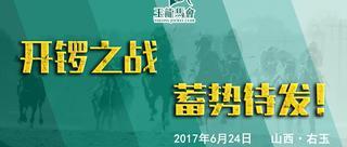 2017玉龙国际赛马公开赛开锣战视频回放