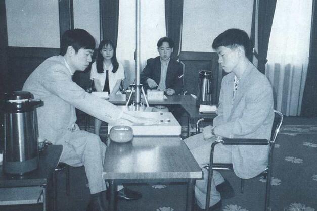1996年富士通杯决赛 马晓春负李昌镐