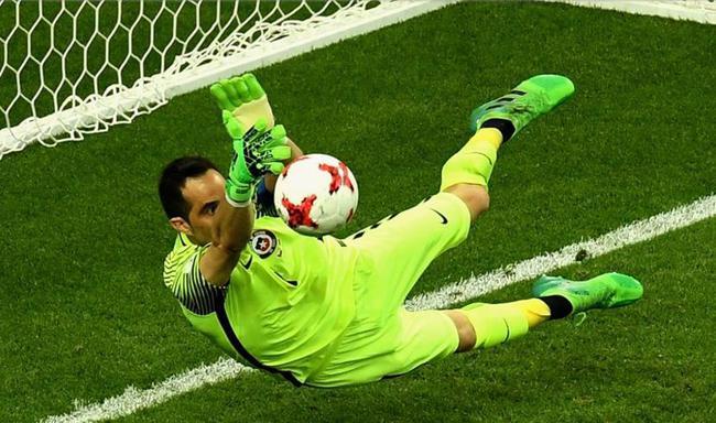联合会杯-门神3连扑 智利点球战胜葡萄牙进决赛