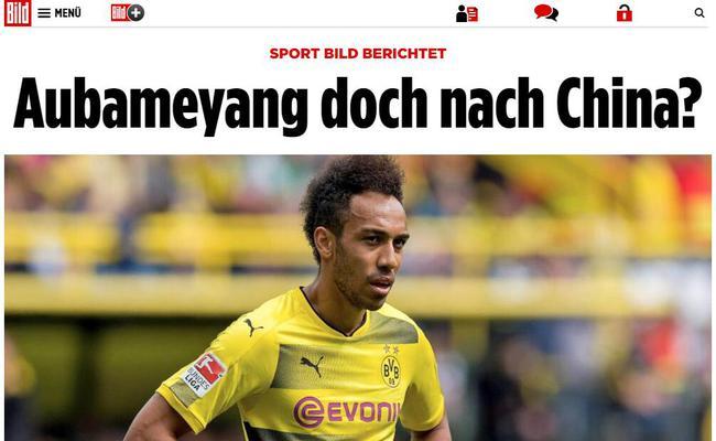 《图片报》援引《体育图片报》的消息,但标题打了问号
