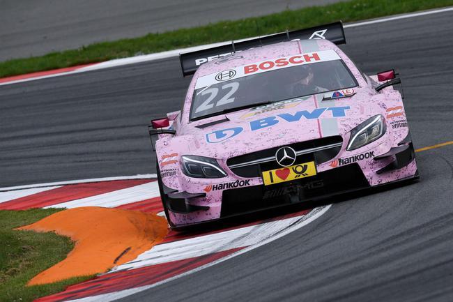 奥尔目前在德国房车大师赛(DTM)中位列第二