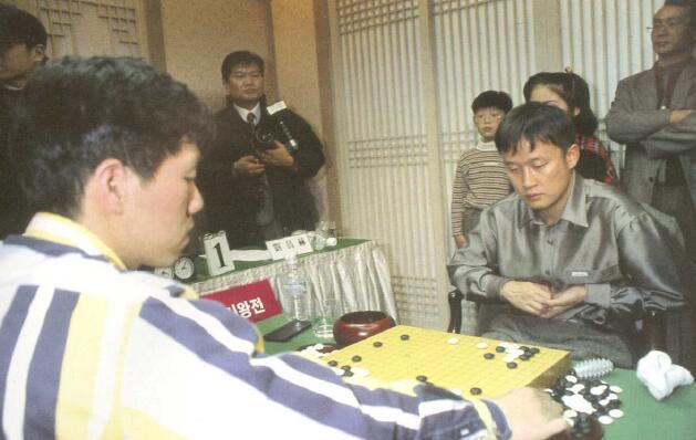 LG杯李昌镐输给了刘昌赫