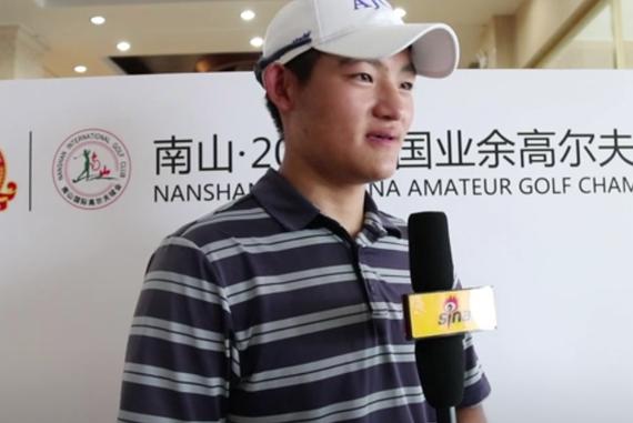 视频-马羚儿子刘騻:感谢妈妈的陪伴 希望能转职业