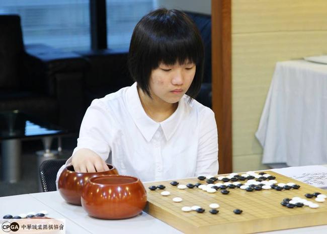台湾第10名职业女棋士白昕卉7段(7月初入段)