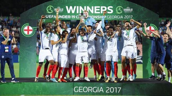 英格兰队夺得U19欧青www.yh0146.com-进入网站,赛冠军 三狮军团未来可期