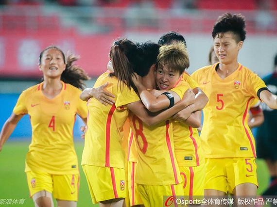 U16女足5-4美国夺冠