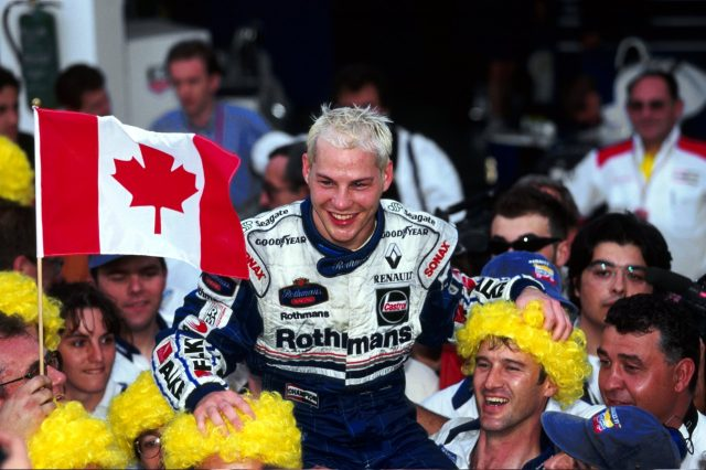 雅克-维伦纽夫1997年代表威廉姆斯车队夺冠