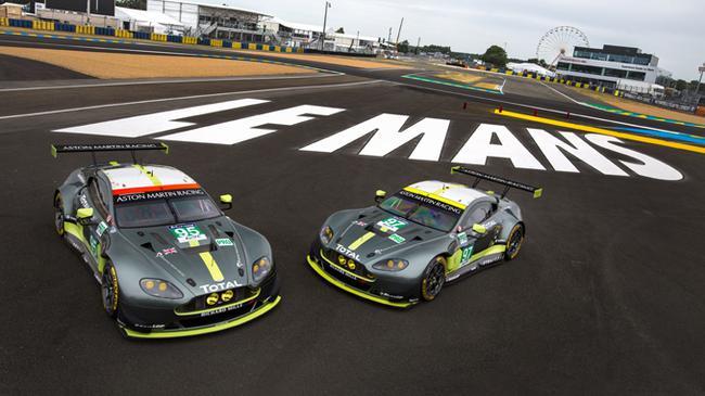 阿斯顿-马丁目前参与WEC世界耐力锦标赛GT组