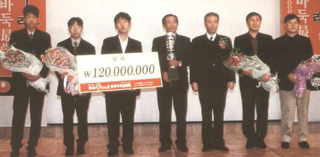 第一届农心杯韩国队夺冠