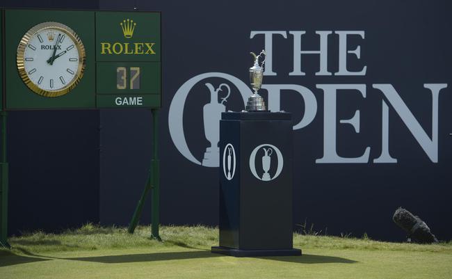 劳力士与英国公开赛奖杯 ©Rolex/Chris Turvey