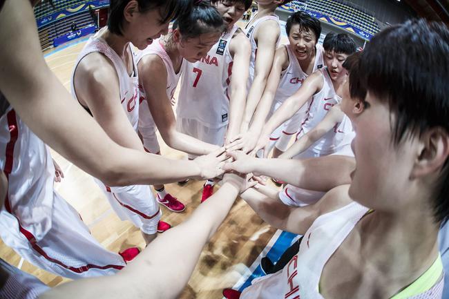 U19女篮挑战赛中国大胜埃及 全队5人得分上双