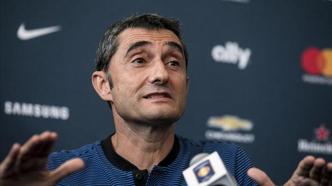 亚冠决赛赛制巴萨主帅:还在等内马尔做决定 梅西总是与众不同