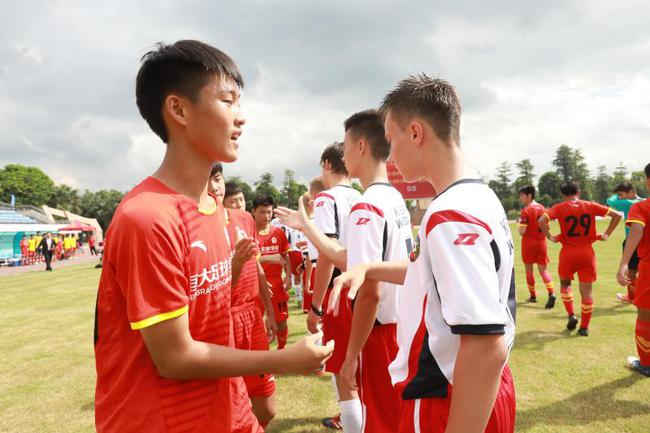 恒大足校经常举办国际国内赛事