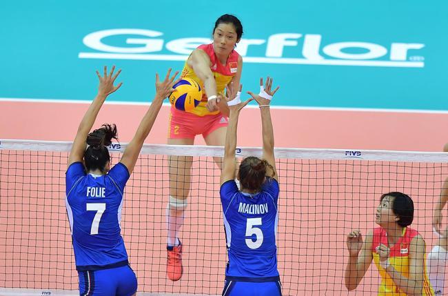 朱婷受伤成转折女排1-3意大利 将争夺季军