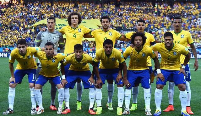 FIFA排名:巴西反超德国居首 中国队排名第77