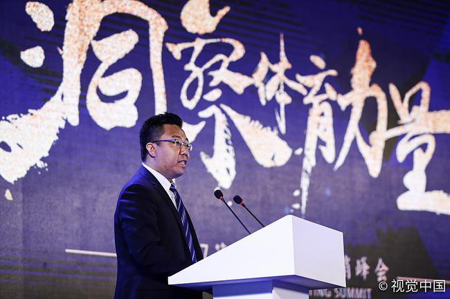 千亿国际大生意创始人李涛先生在峰会上致辞