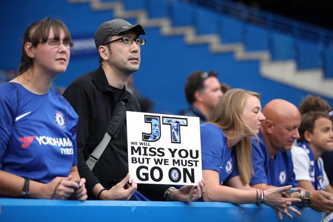 切尔西球迷怀念前队长特里