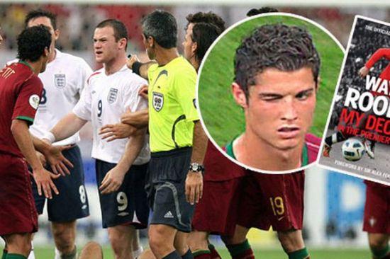 在世界杯被C罗暗算是鲁尼的低谷