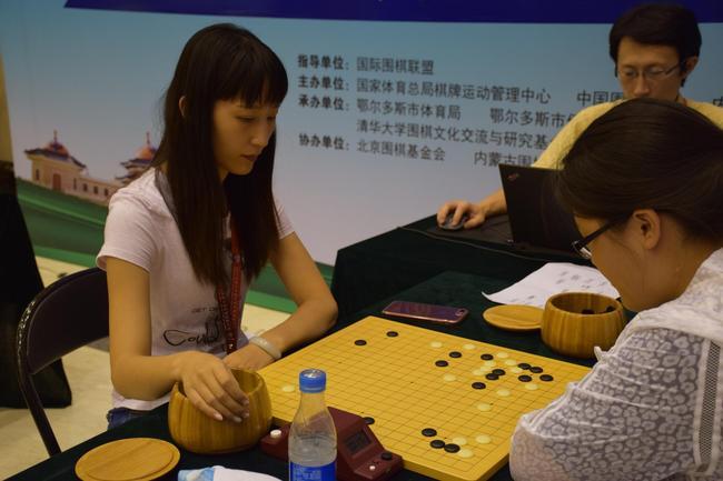 女士围棋赛常立飞
