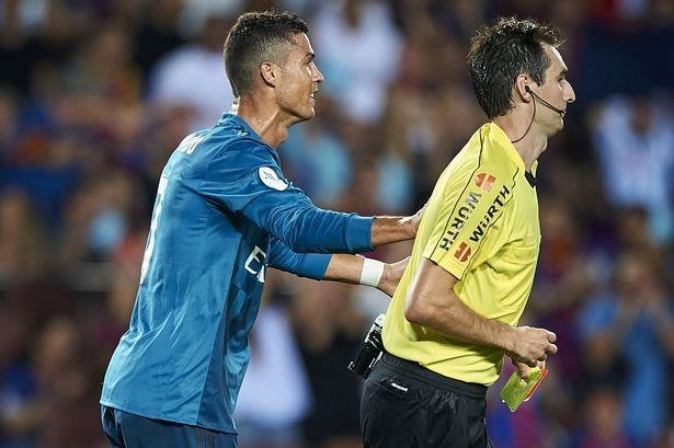 皇马上诉遭西班牙足协驳回 C罗仍将被禁赛5场