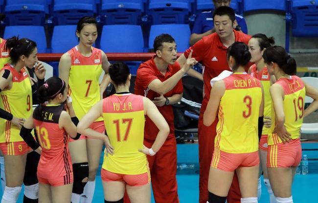 中国女排二队0-3完败日本 止步亚锦赛四强