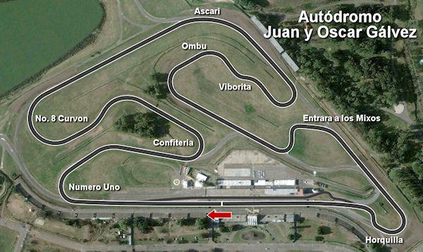 加尔维兹(Juan y Oscar Gálvez)赛道图