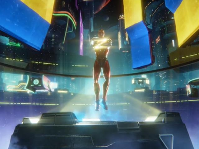 视频-伊布养伤不忘参与手游制作 化身主角酷似钢铁侠