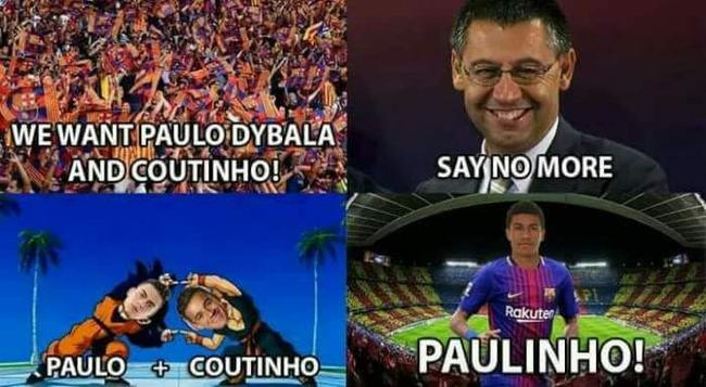 保罗+库蒂尼奥?保利尼奥来了!