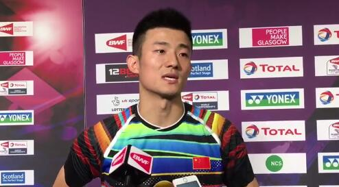 谌龙:李宗伟出局我仍在继续 不想三连冠想当下