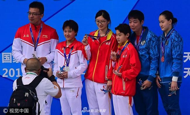 13岁跳水小将成最值得期待新星 两胜奥运会冠军