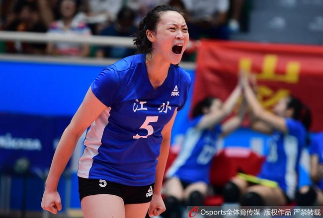 惠若琪:在场上就咬牙坚持 全运会很残酷很激烈