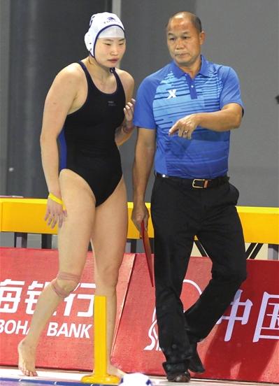 天津女子水球队:我们要场场赢 冲击全运会三连冠