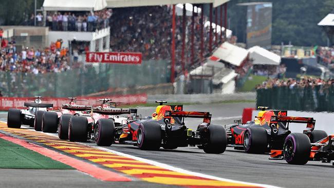 F1比利时站