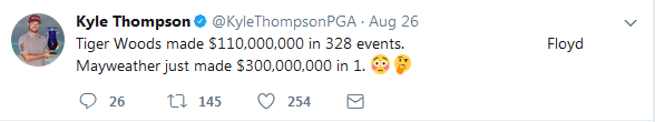 汤普森推特截图