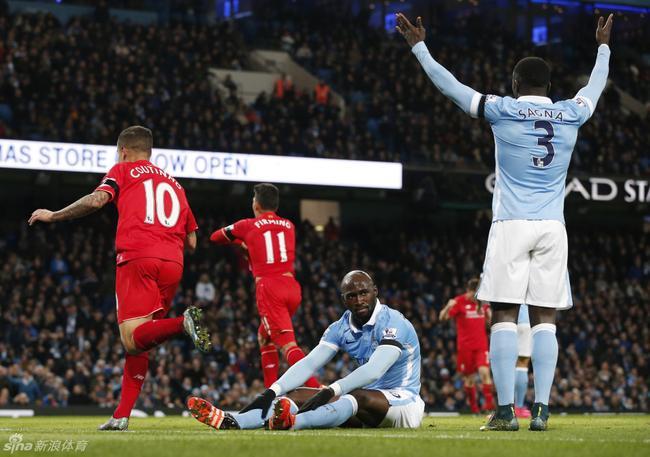 利物浦用一场4-1大胜从伊蒂哈德带走了3分