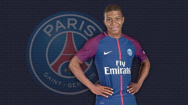 姆巴佩即将加盟巴黎